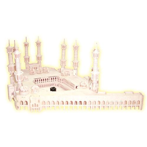 Woodcraft Dřevěné 3D puzzle Mekka