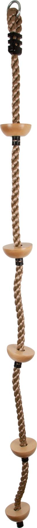 Small Foot Dětské šplhací lano s nášlapnými body
