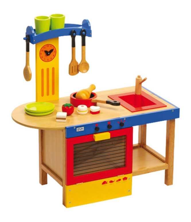 Small Foot Dětská dřevěná kuchyňka Magic