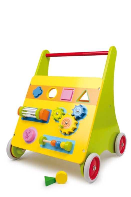 Dřevěné hračky - Dřevěné chodítko Mico