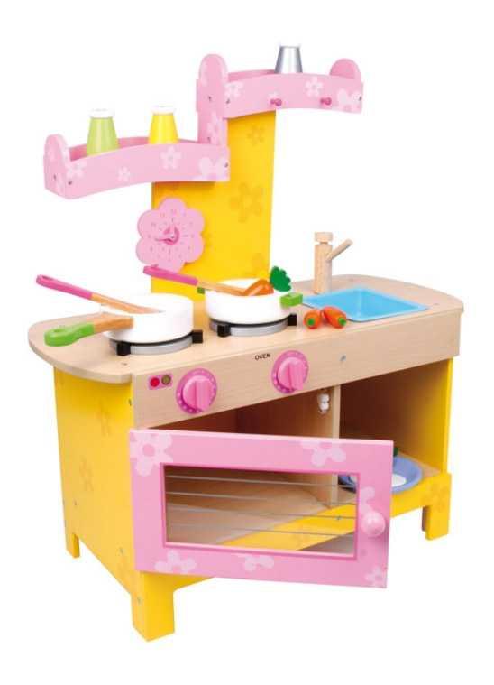 Small Foot Dětská dřevěná kuchyňka Nena