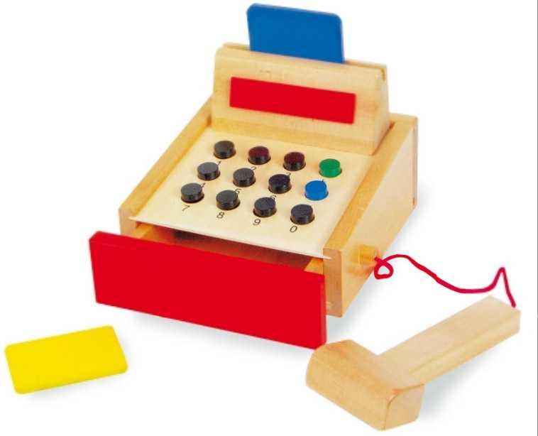 Small Foot Dětská dřevěná pokladna