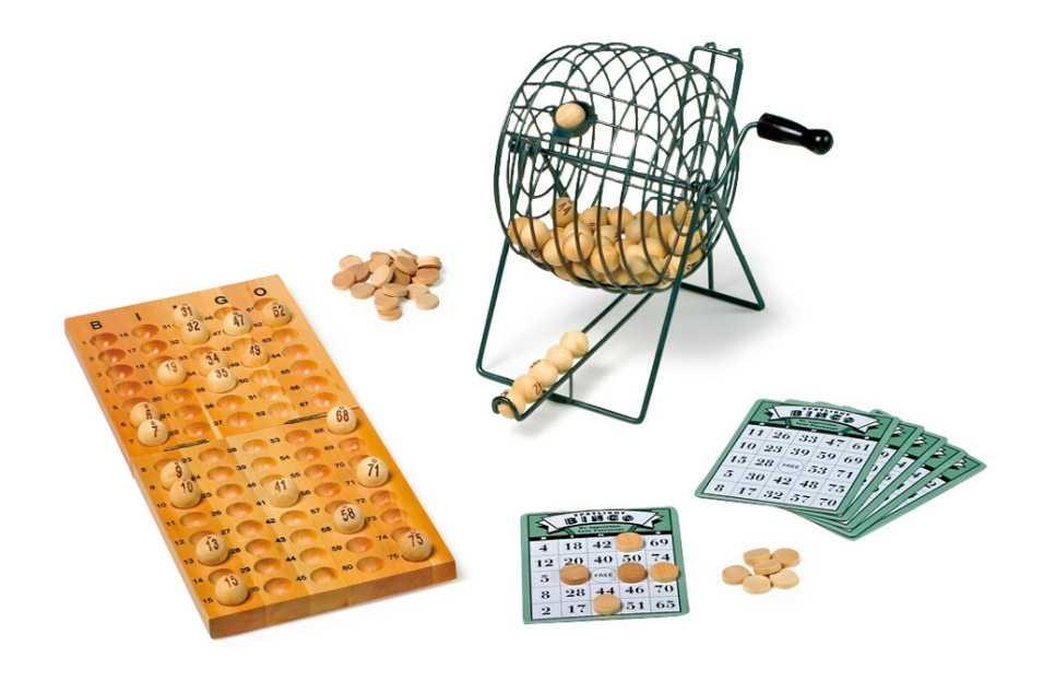 Small Foot Dřevěné hry Bingo