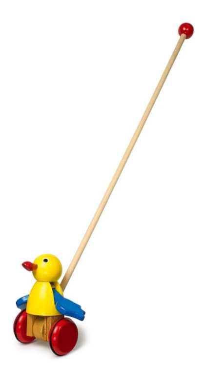 Small Foot Jezdík žlutý pták s mávajícími křídly
