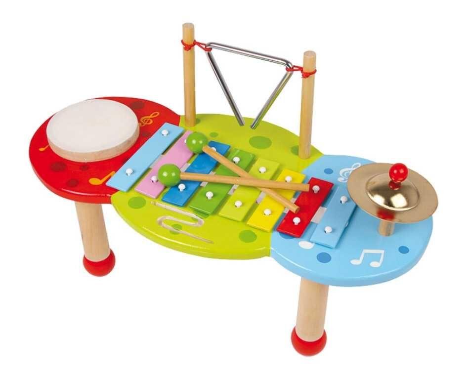 Small Foot Dřevěné hračky xylofon Deluxe