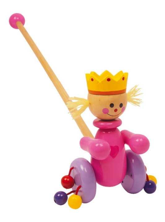 Small Foot Jezdík růžová královna