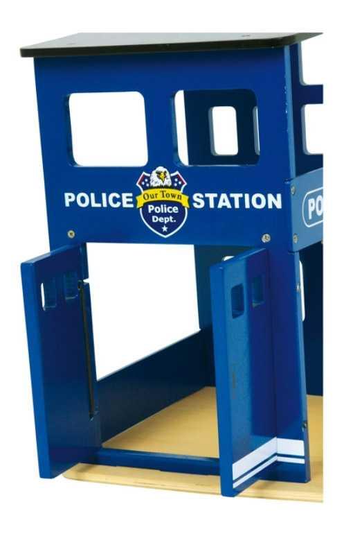 Dřevěná policejní stanice