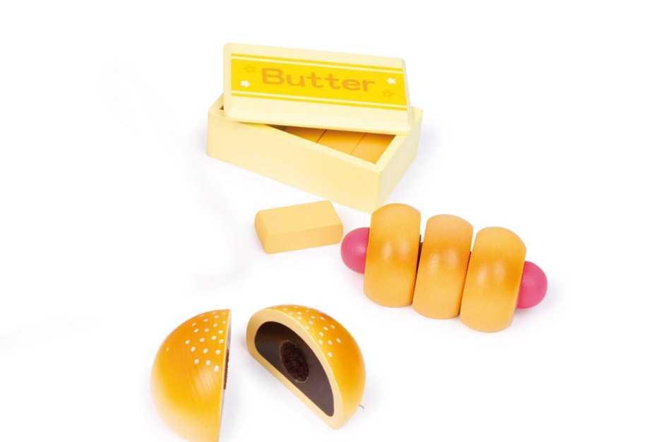 Dřevěná hračka - Dětská dřevěná trouba 31 dílů
