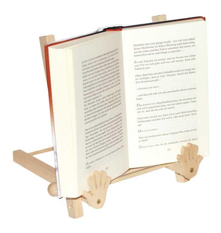Small Foot Dřevěný držák stojan na otevřenou knihu