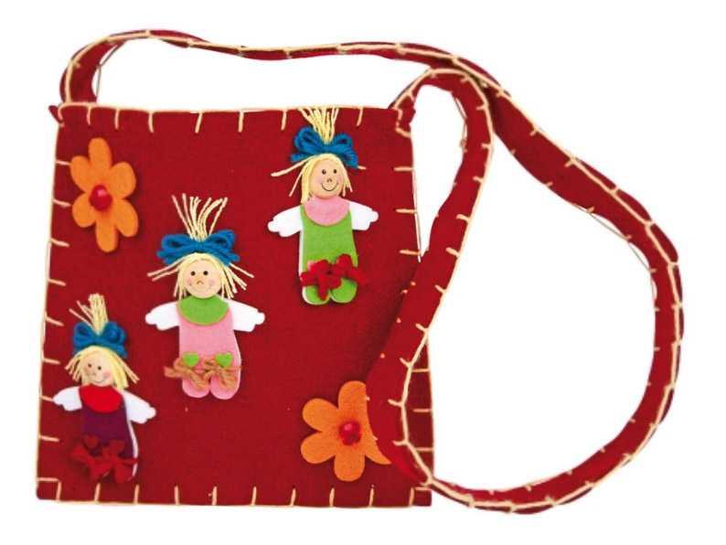 Dětská filcová kabelka přes rameno - Diana