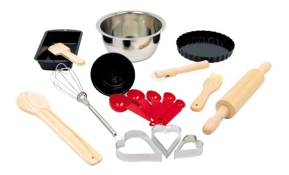 Dětské nádobí - Dětský set na pečení Deluxe