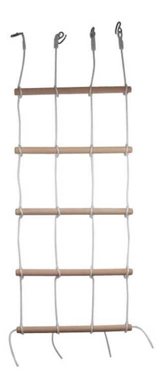 Small Foot Dřevěné venkovní hračky Šplhací stěna