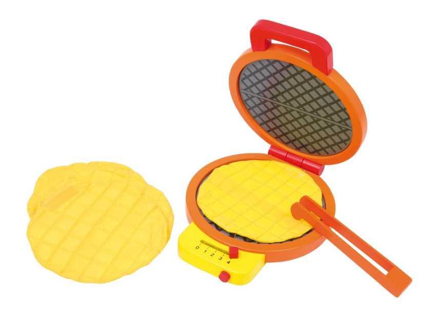 Dřevěné hračky pro holky - Dřevěný vaflovač Leonie