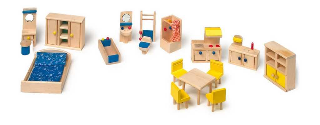 Small Foot Dřevěný nábytek pro panenky s kuchyní set