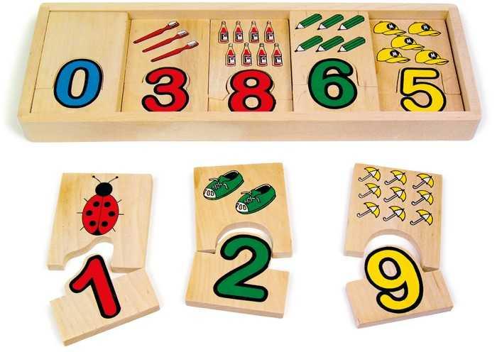 Small Foot Čísla přiřazení čísel