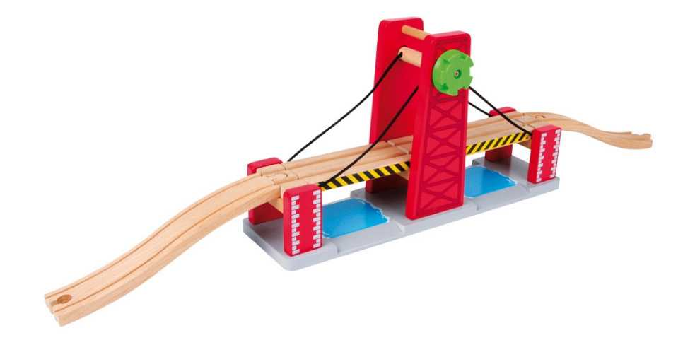 Small Foot vláčkodráha dvojitý zvedací most pro lodě