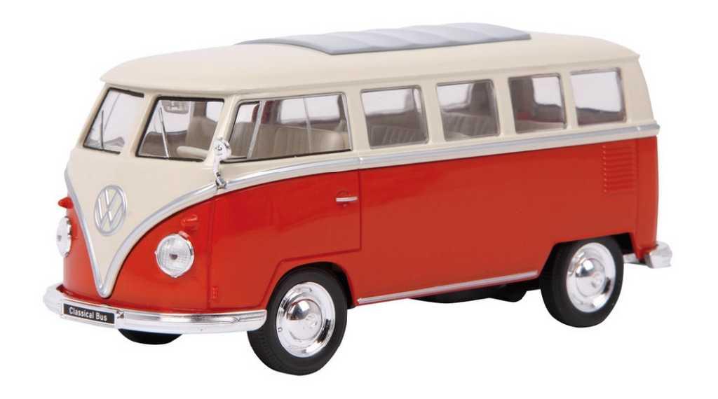 Small Foot Kovový model auta klasický autobus VW