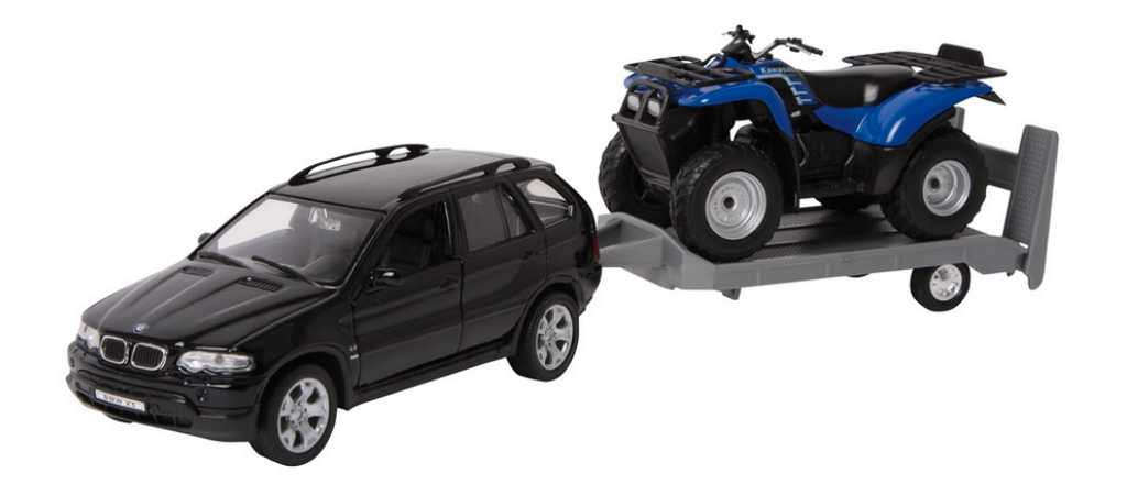 Kovový model auta - Model automobilu Off-Road Set