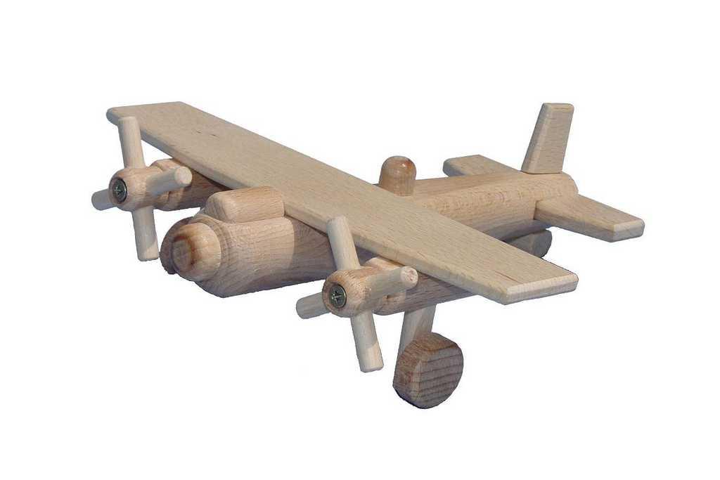Ceeda Cavity - dřevěné letadlo bombardér I.