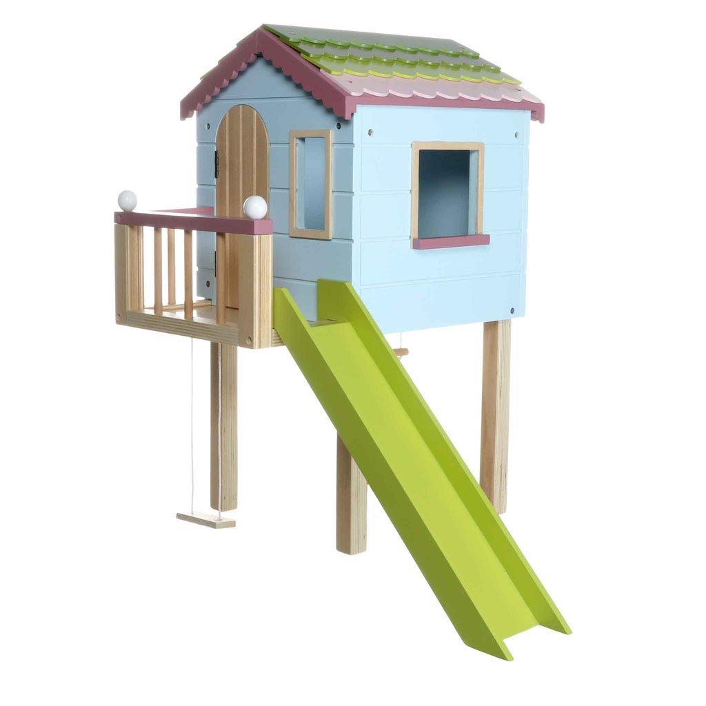 Lottie Dřevěný zahradní domeček pro panenky