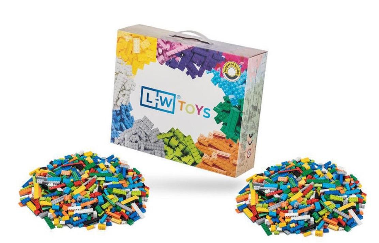 L-W Toys Základní set 2000 ks (lehký + těžký)