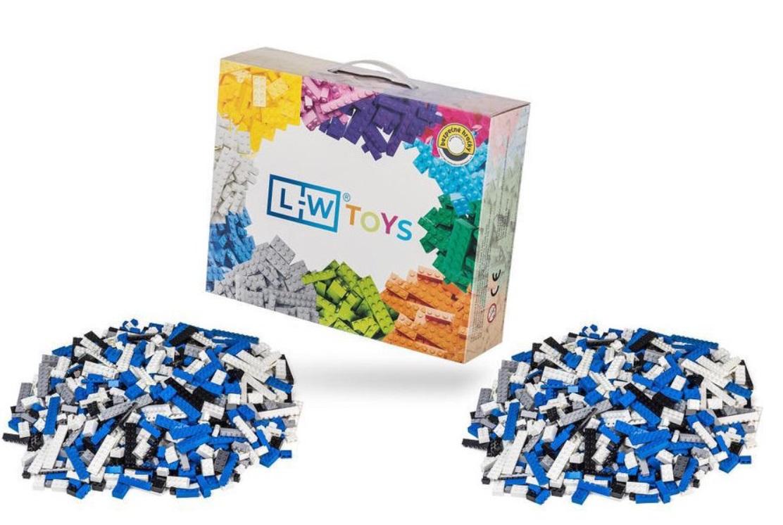 L-W Toys Policejní set 2000 ks - (lehký + těžký)