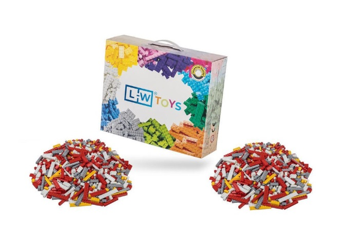 L-W Toys Hasičský set 2000 ks (lehký + těžký)