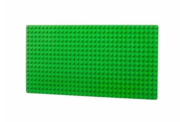 L-W Toys Deska pro nejmenší stavitele 16x32 bodů (25,5x51 cm)