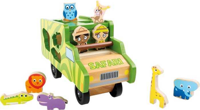 Small Foot Autobus se zvířátky safari