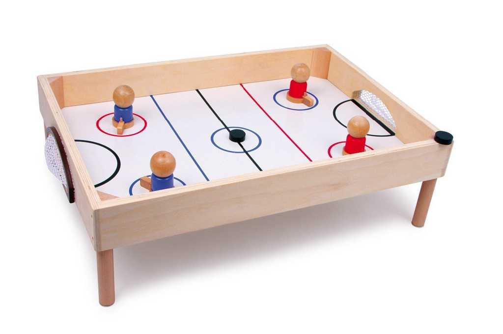 Small Foot Dřevěný stolní hokej