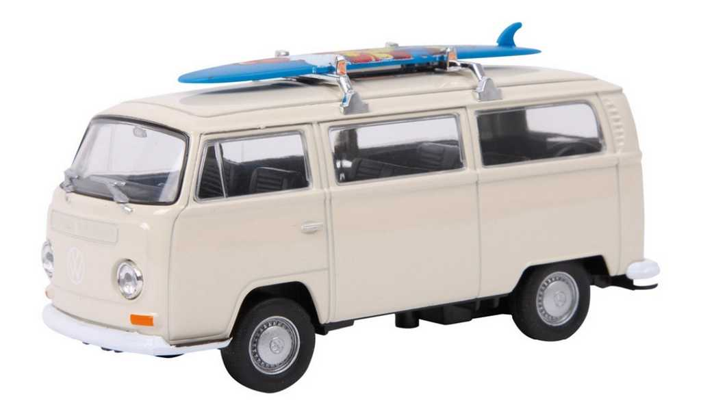 Small Foot Model automobilu VW autobus T2 surfovací prkno