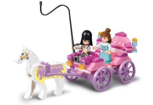 Sluban Girls Dream Princess M38-B0239 Princeznin kočár