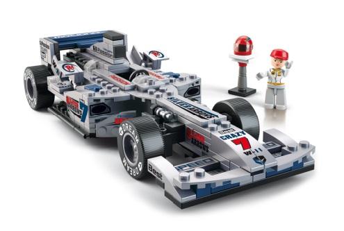 Sluban Formule 1 M38-B0352 Formule stříbrná