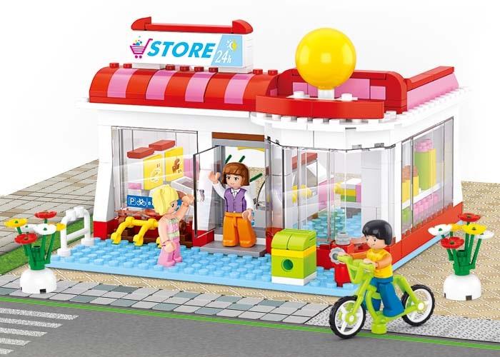 Sluban Girls Dream Town M38-B0529 Supermarket