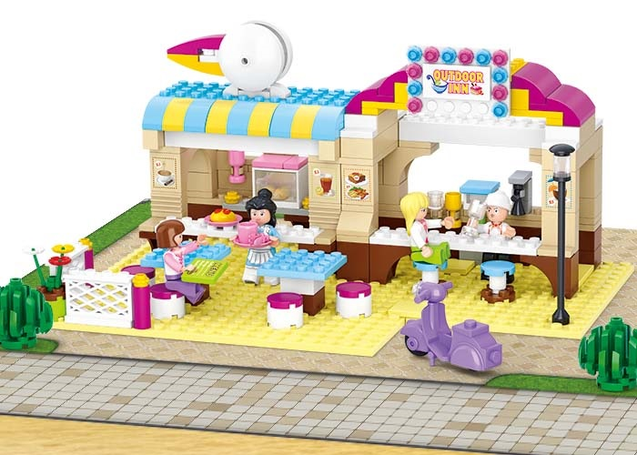 Sluban Girls Dream Town M38-B0530 Stylová restaurace