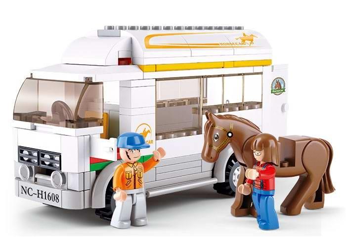 Sluban Town Farma M38-B0559 Vůz na přepravu koní