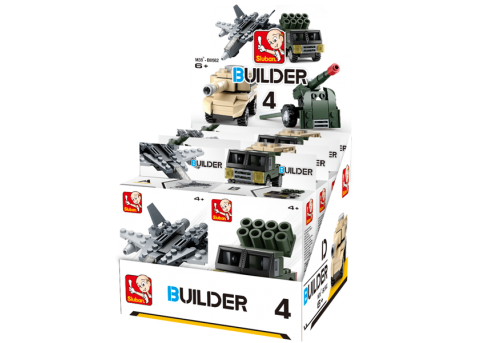 Sluban Builder M38-B05396 4 Army 1 ks