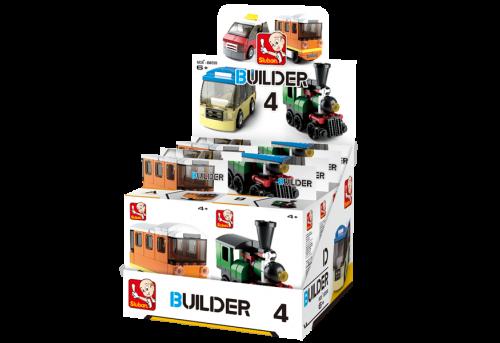 Sluban Builder M38-B0598 4 Veřejná doprava 1 ks