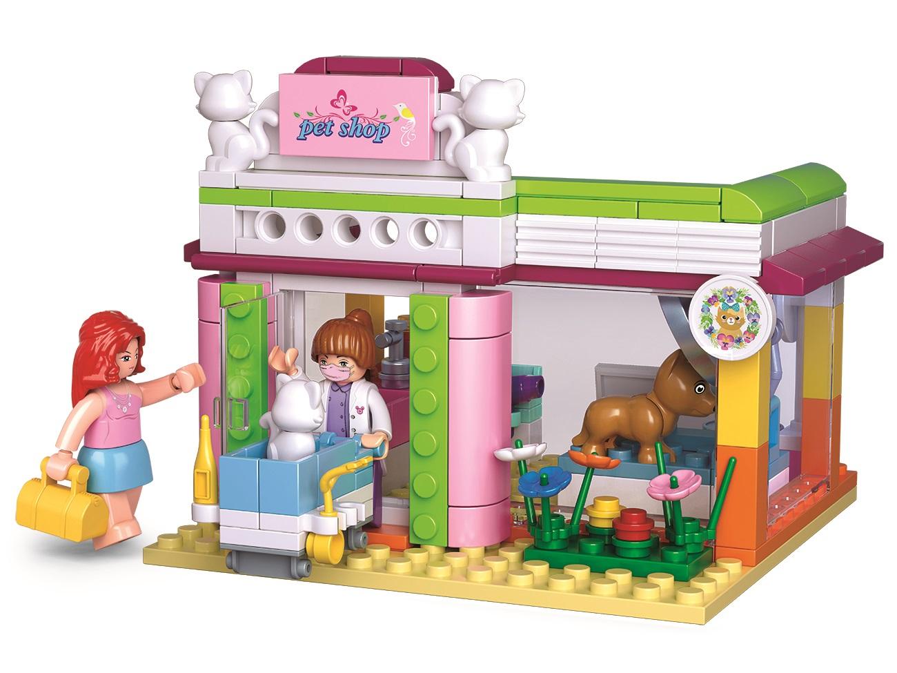Sluban Girls Dream Holidays M38-B0602 Veterinární klinika