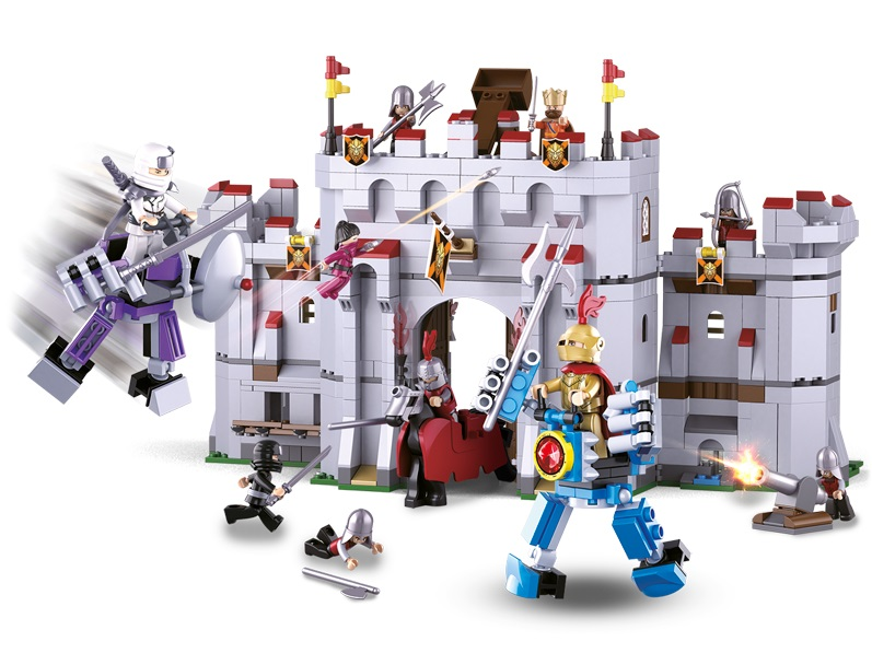 Sluban Legendární bojovníci M38-B0620 Ninja útok na hrad