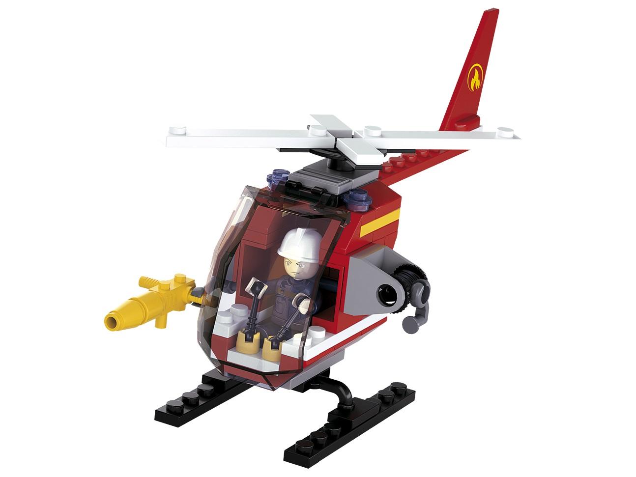 Sluban Hasiči M38-B0622D Helikoptéra