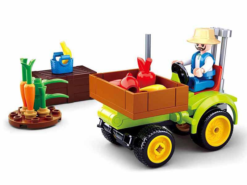 Sluban Town Farma M38-B0776 Traktůrek na ovoce