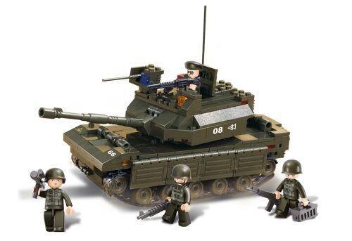 Sluban Army M38-B6500 Hlavní tank - poškozený obal