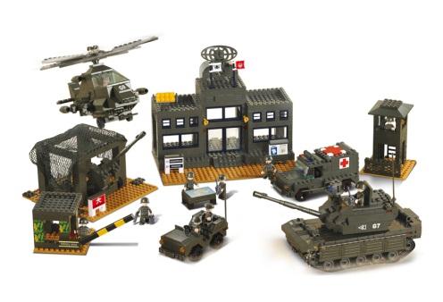 Sluban Army M38-B7100 Velitelství