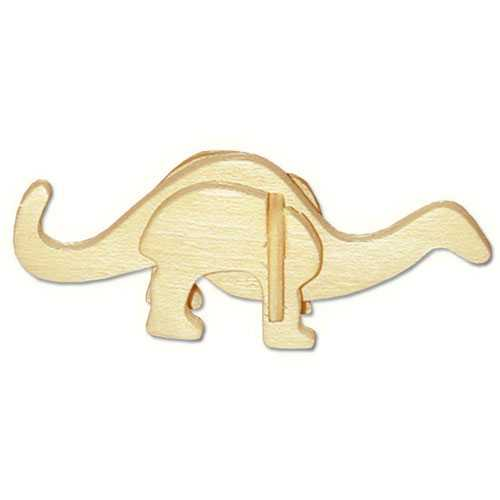Woodcraft Dřevěné 3D puzzle mini skládačka Apatosaurus