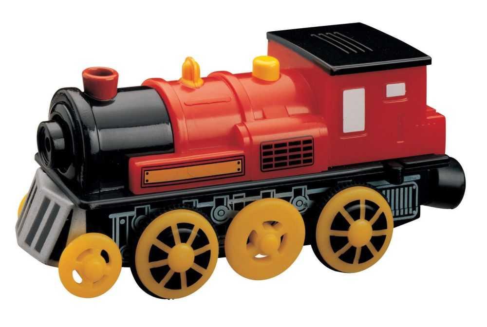 Maxim Dřevěná elektrická lokomotiva