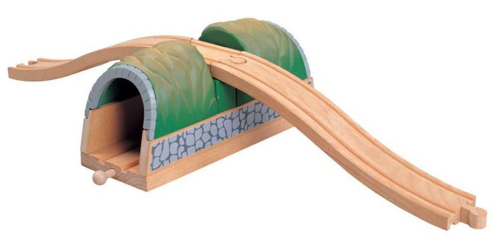 Maxim Dřevěný tunel s nadjezdem