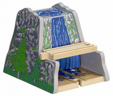 Maxim Dřevěný tunel s vodopádem