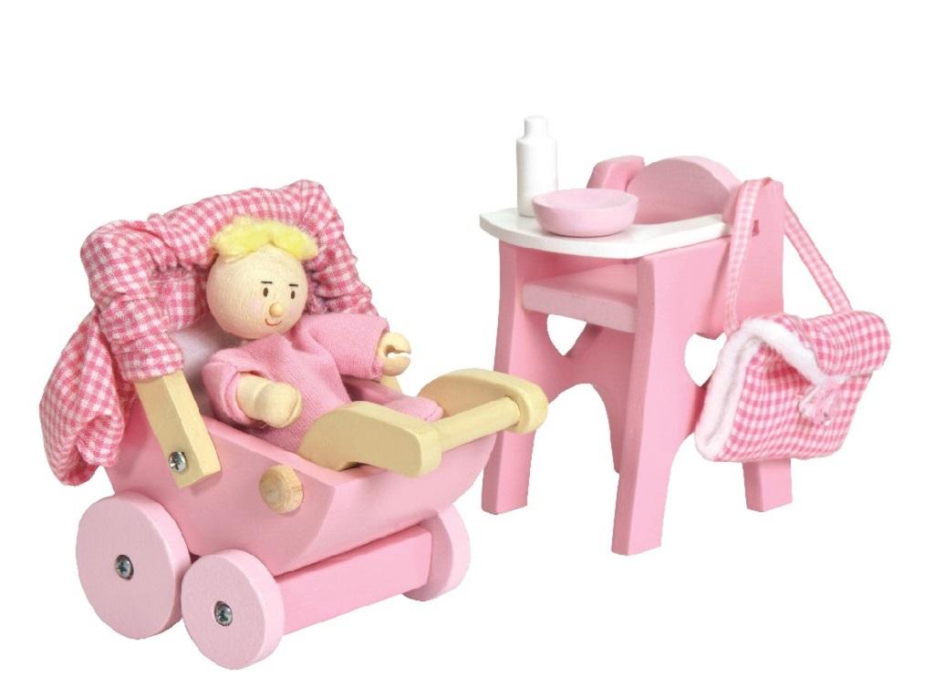 Le Toy Van Set miminko s příslušenstvím