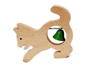 Makovský Dřevěná hudební kočka
